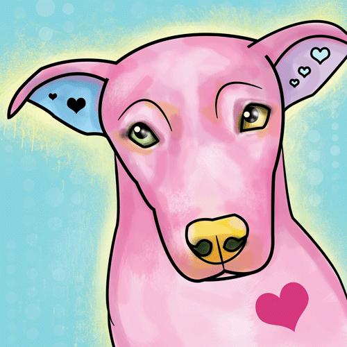 The artwork of brittany farina fundraiser it s a pittie rescue
